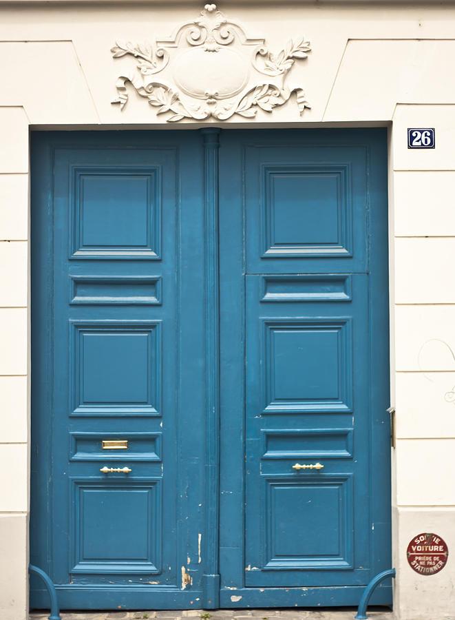 Paris Door Photograph