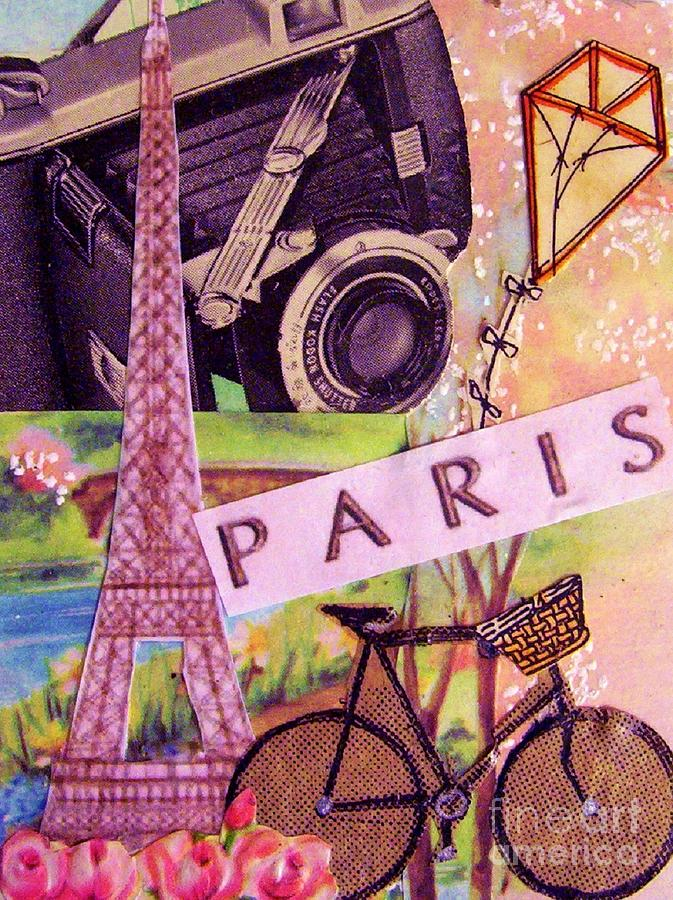 Paris  Drawing  - Paris  Fine Art Print