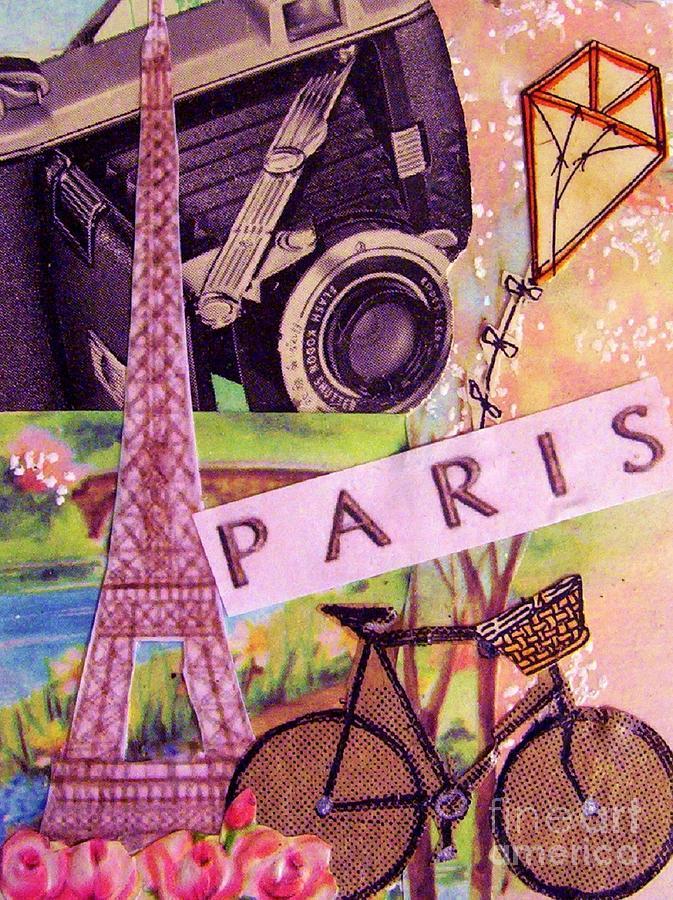Paris Drawing - Paris  by Eloise Schneider