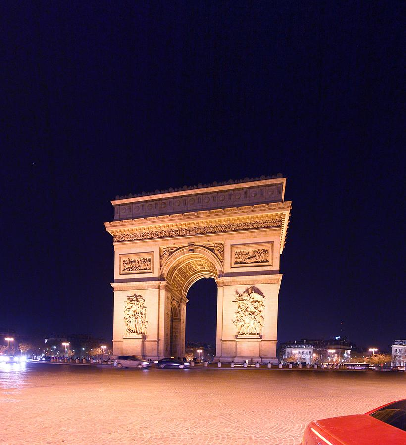 Paris France - Arc De Triomphe - 01131 Photograph