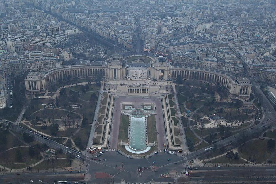 Paris France - Eiffel Tower - 011310 Photograph