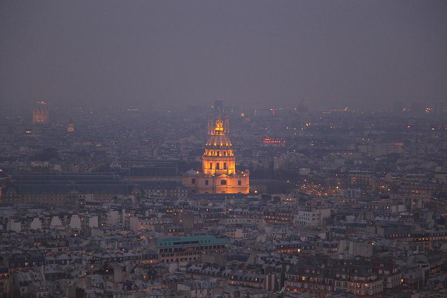 Paris France - Eiffel Tower - 011320 Photograph