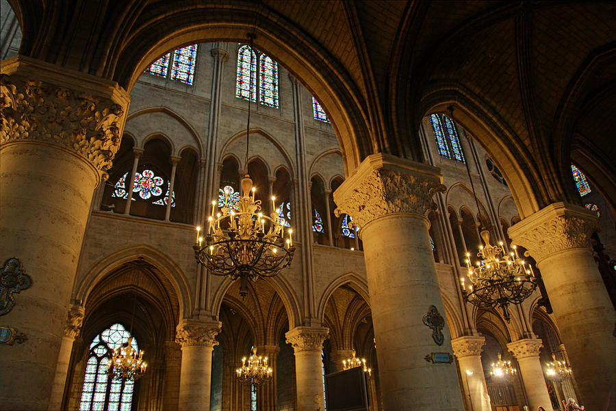 Paris France - Notre Dame De Paris - 01134 Photograph