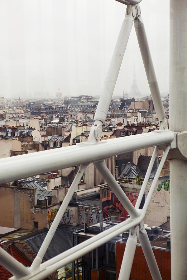 Paris Photograph - Paris Geometry 2 by Art Ferrier
