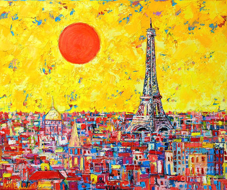 Paris In Sunlight Painting