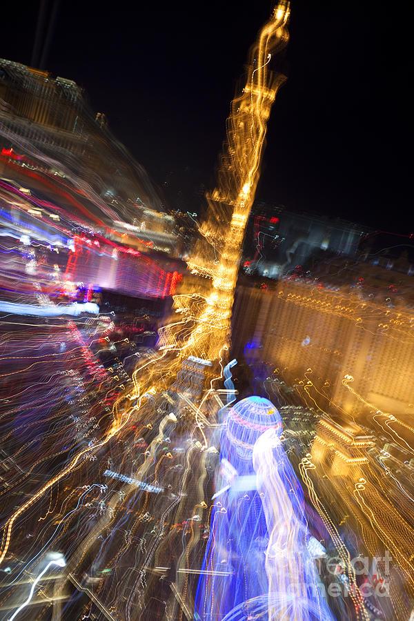 Paris In Vegas Photograph