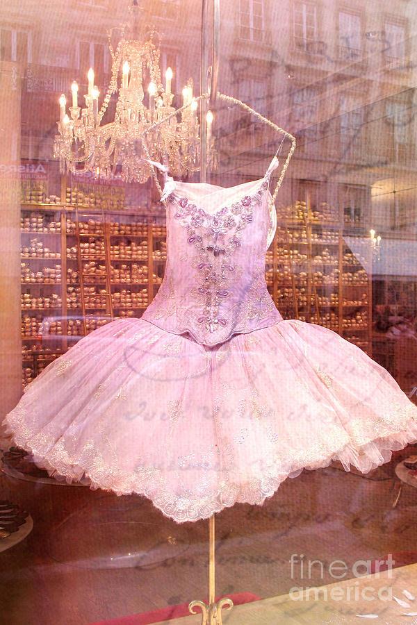 Paris Pink Ballerina Tutu - Paris Repetto Ballet Shop - Paris Ballerina Dress Tutu - Repetto Ballet Photograph