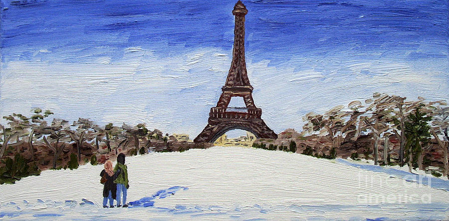 Paris Romance Painting