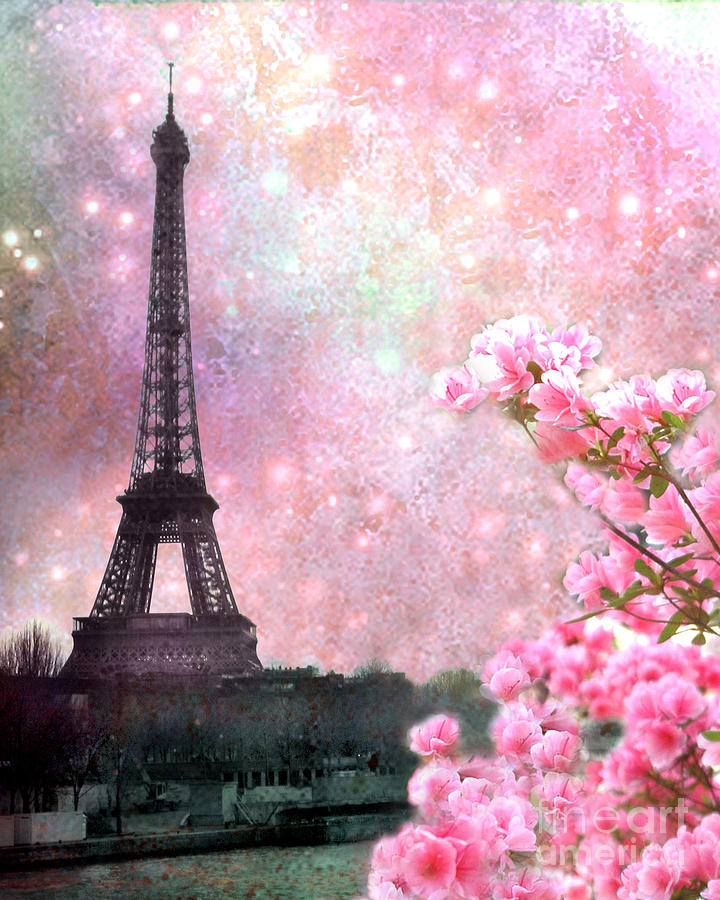 eiffel tower paris pink - photo #38