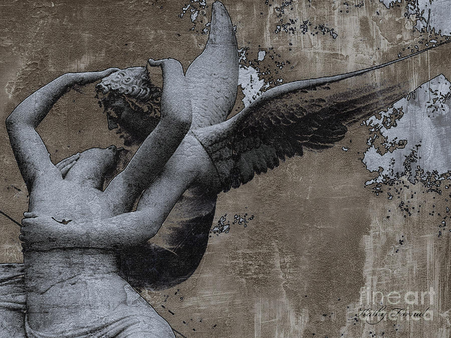 Paris - Surreal Angel Art - Eros And Psyche  Photograph