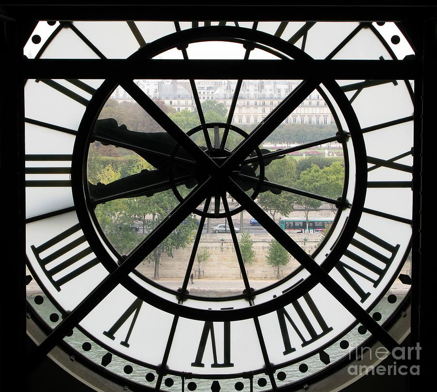 Paris Time Photograph