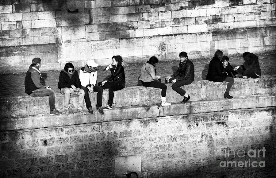 Paris Youth Photograph