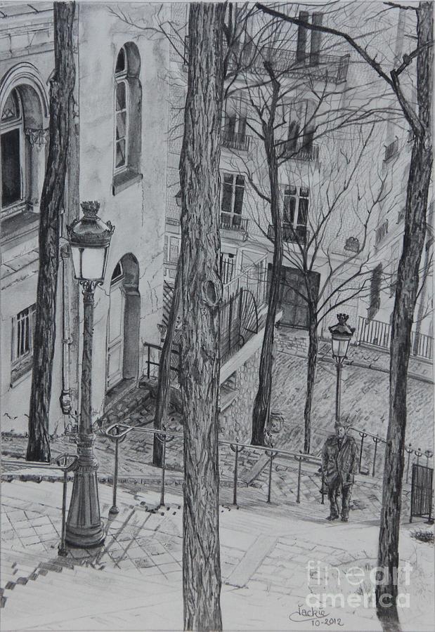 Parisienne Walkways Drawing