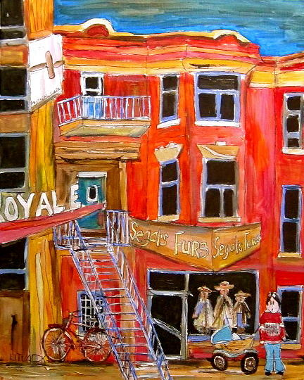 Park Avenue Montreal Painting