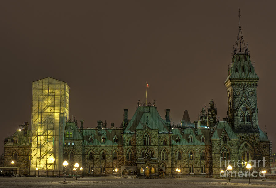 Parliament Hill Ottawa Photograph