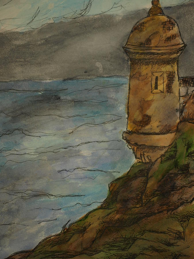 Parte Del Morro Drawing