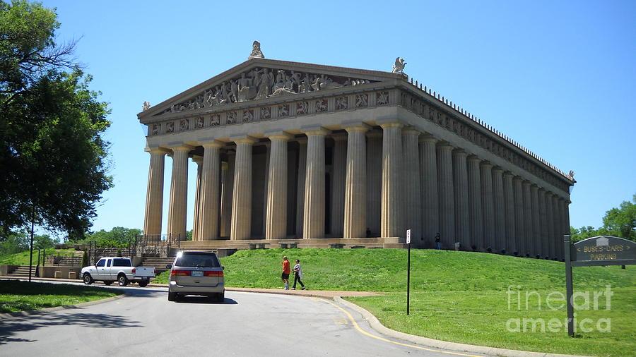 Parthenon In Nashville Photograph