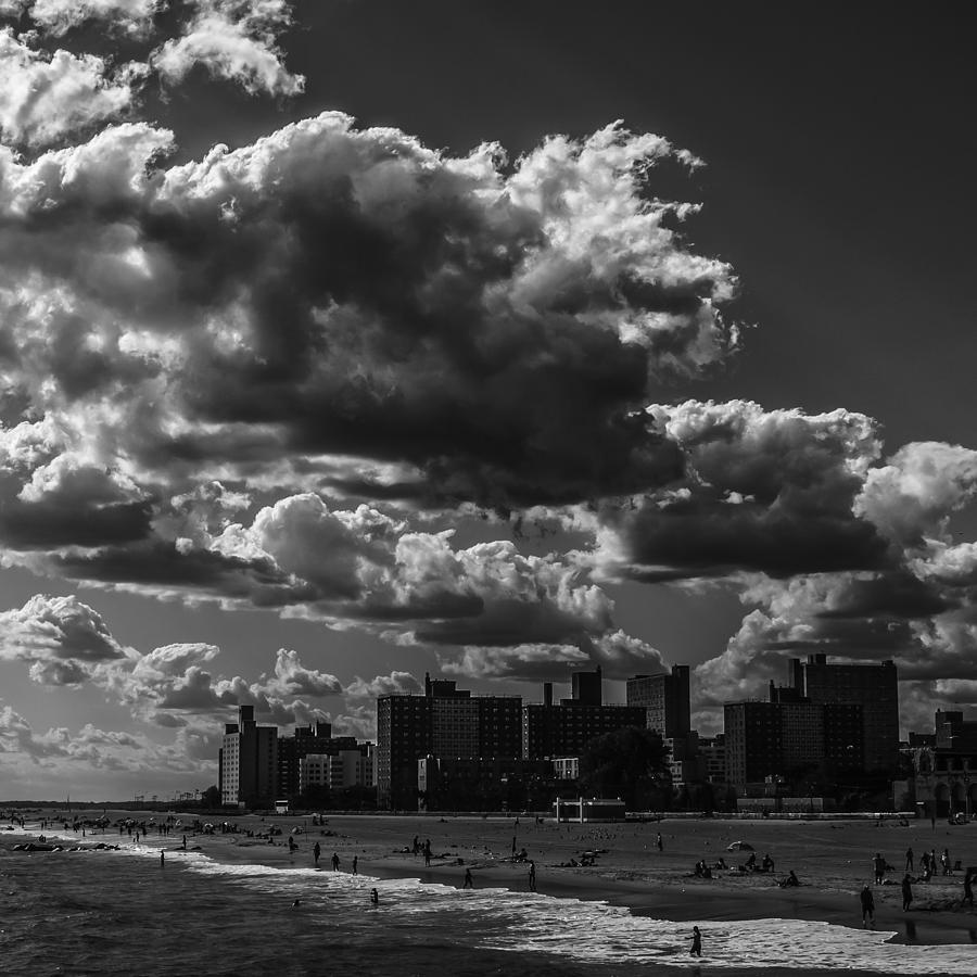 Clouds Photograph - Partly Cloudy by Edward Khutoretskiy