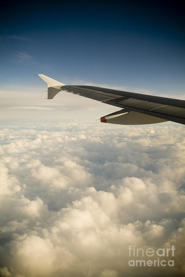 Jet Photograph - Passenger View by Tim Hester