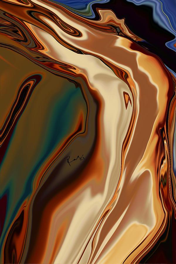 Passionate Kiss Digital Art