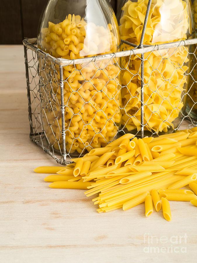 Pasta Shapes Still Life Photograph