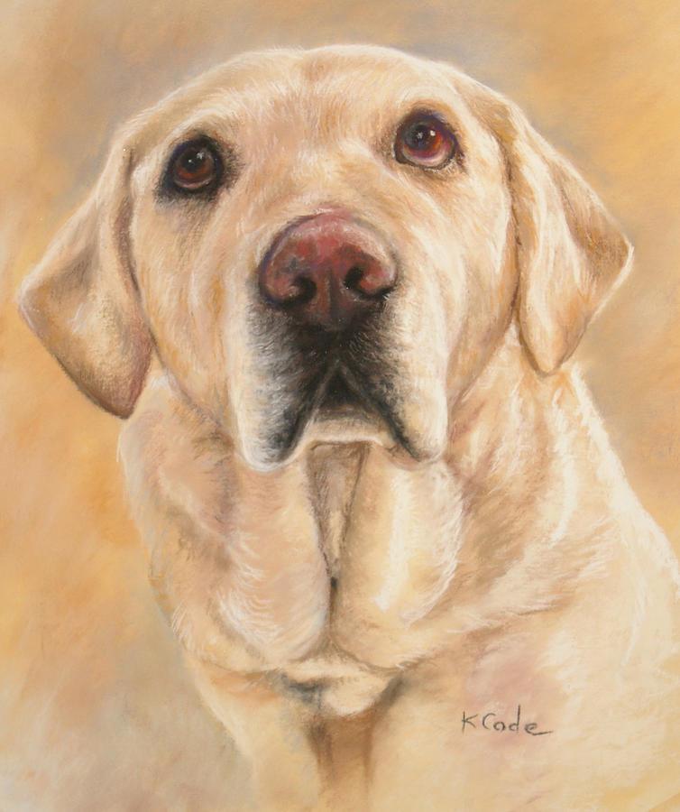 Pastel Painting Pastel - Pastel Portrait by Karen Cade