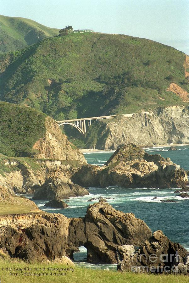 Path To Bixby Bridge Photograph  - Path To Bixby Bridge Fine Art Print