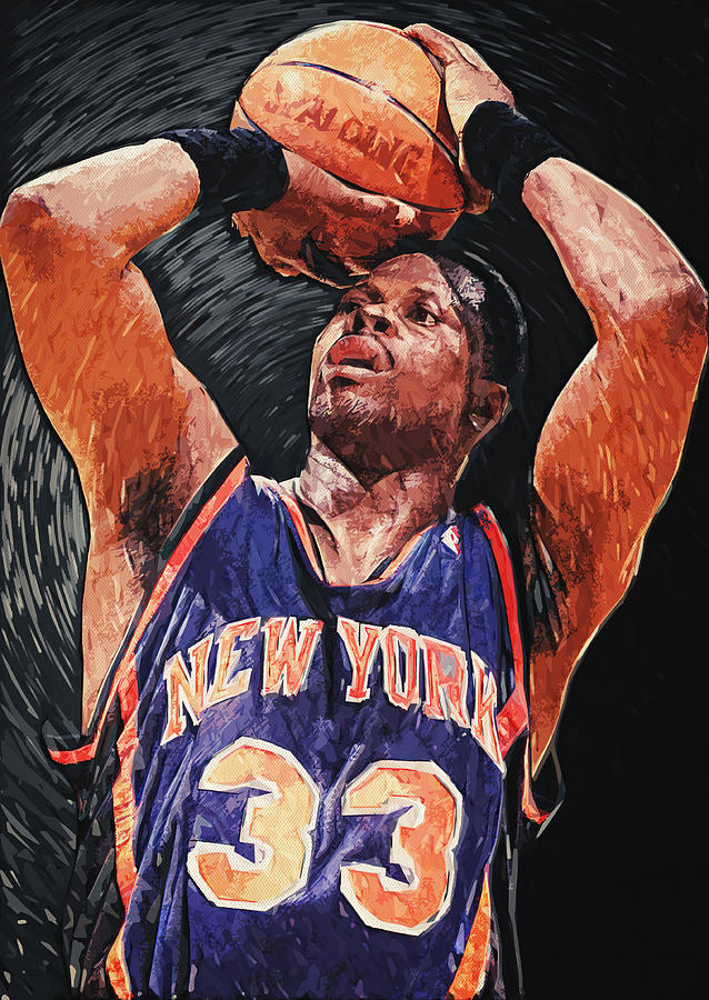 Patrick Ewing Digital Art by Taylan Soyturk