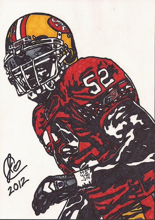 Patrick Willis Drawing