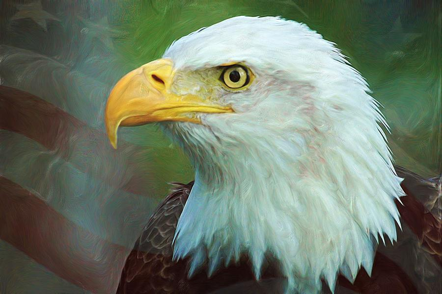 Patriot Digital Art  - Patriot Fine Art Print