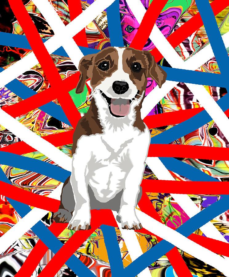 Patriotic Jack Digital Art