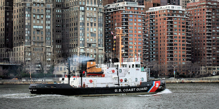 Patrolling The East River Photograph