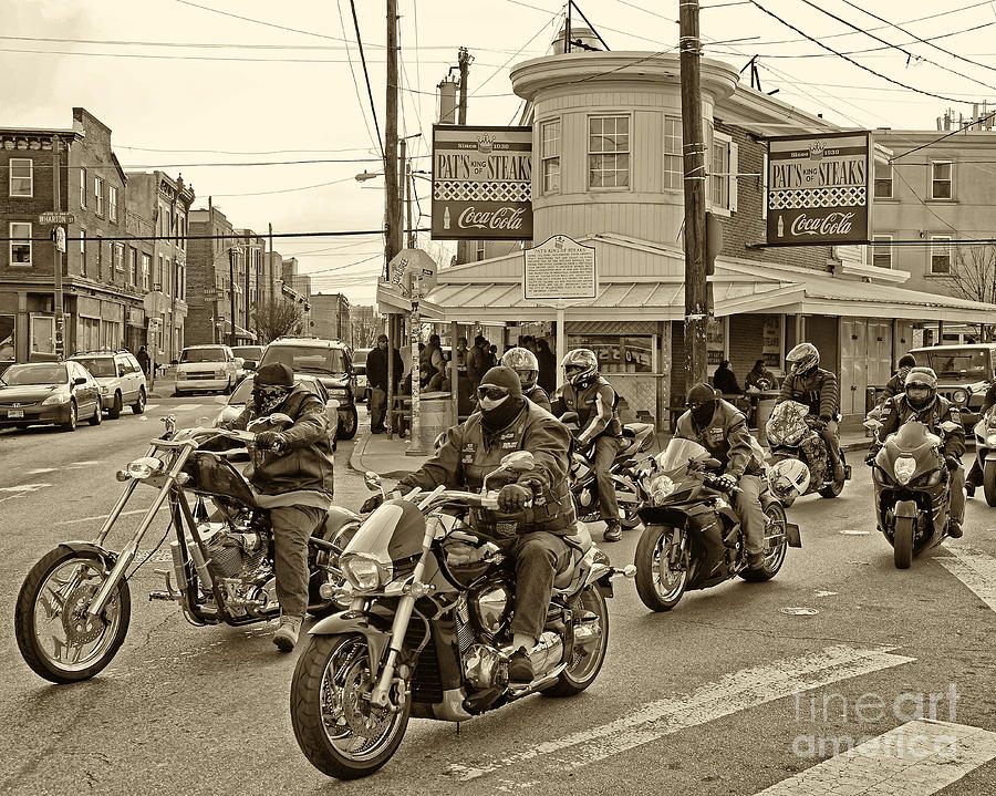 Pats With Cycles Photograph  - Pats With Cycles Fine Art Print