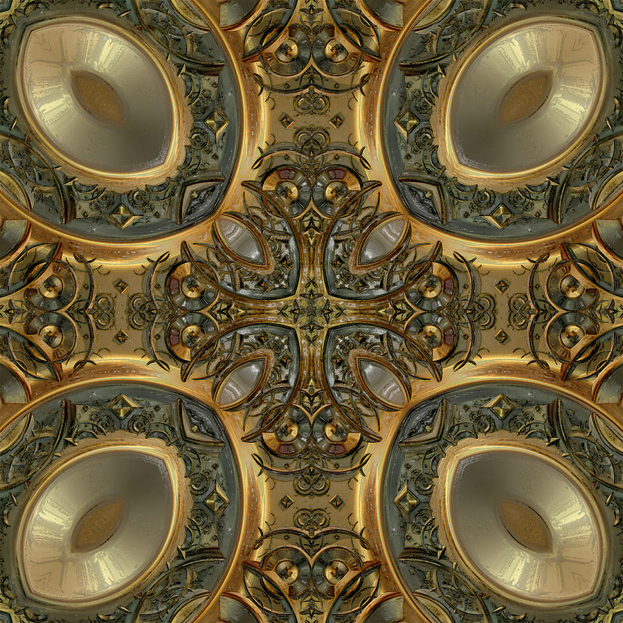 Patterns 1711-sw551pd Digital Art  - Patterns 1711-sw551pd Fine Art Print