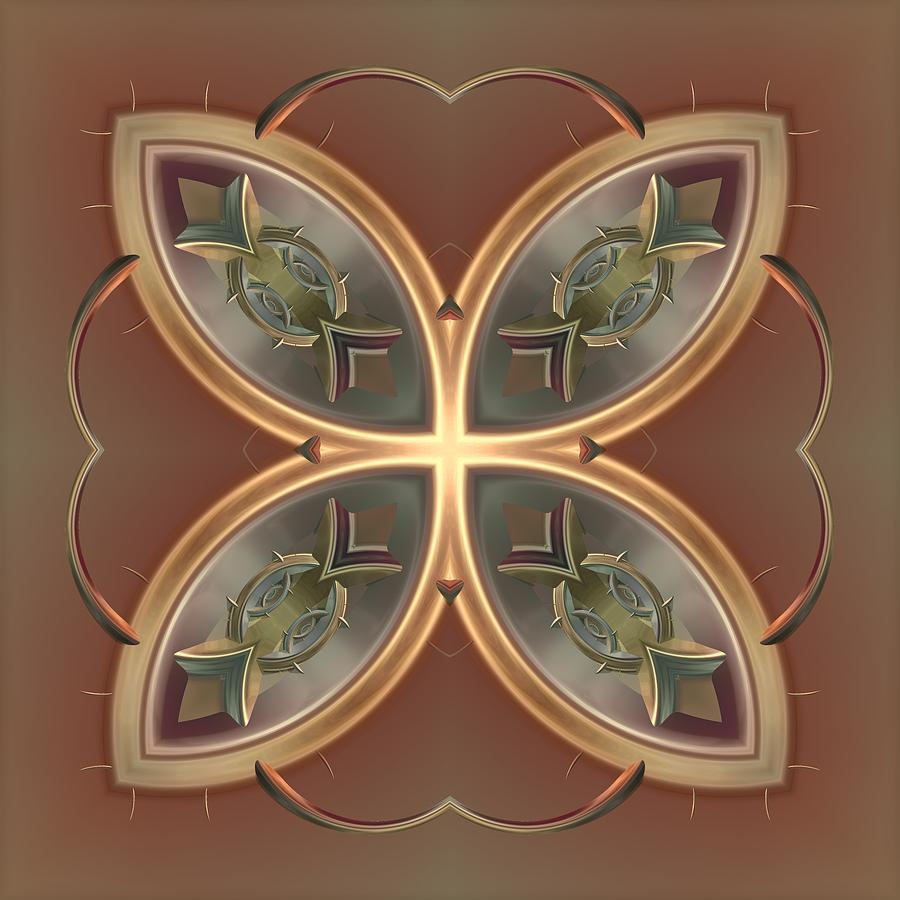 Patterns 1711-sw555 Digital Art  - Patterns 1711-sw555 Fine Art Print