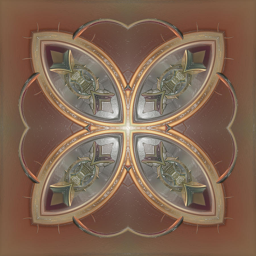 Patterns 1711-sw555p Digital Art  - Patterns 1711-sw555p Fine Art Print