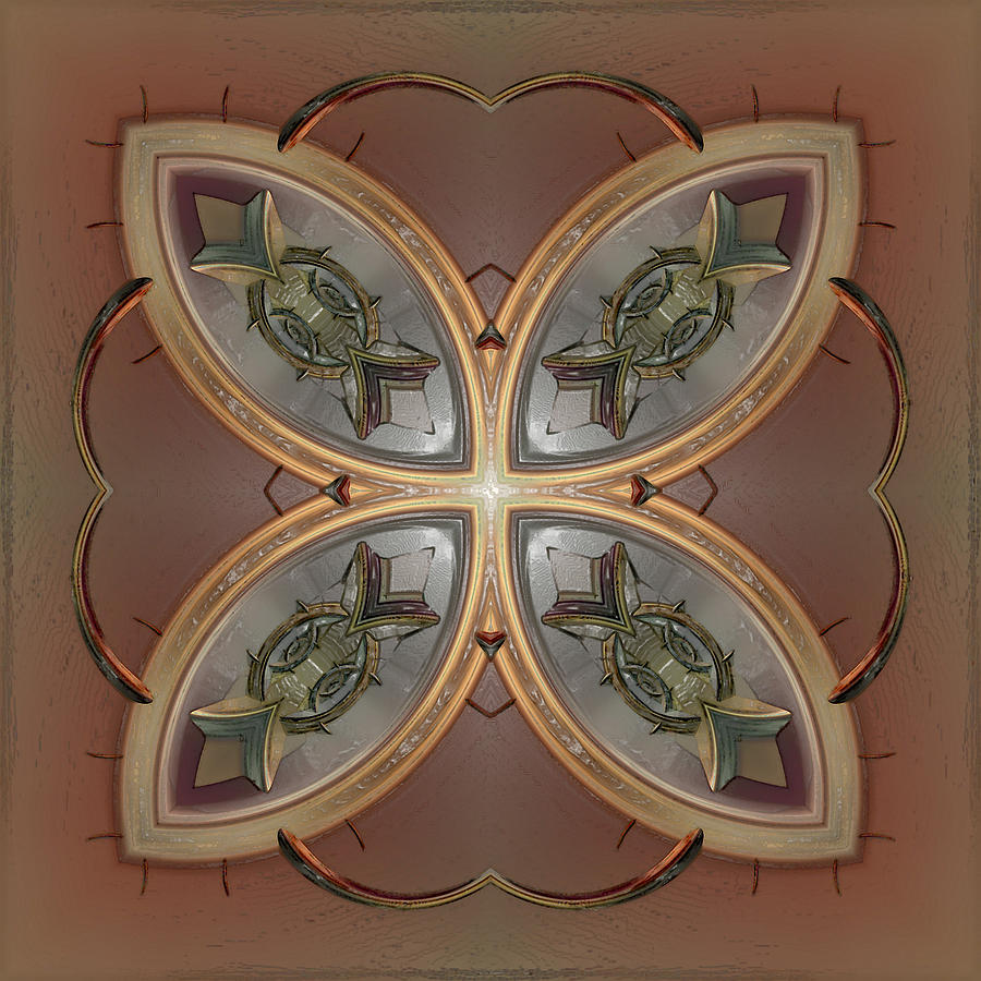 Patterns 1711-sw555pd Digital Art  - Patterns 1711-sw555pd Fine Art Print
