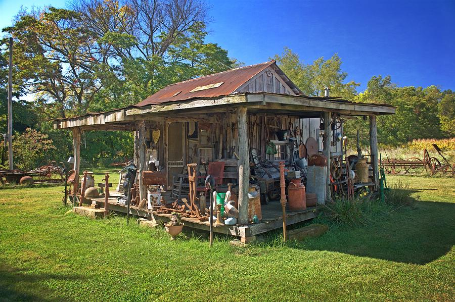Rustic Photograph - Patterson Place 1 by Marty Koch