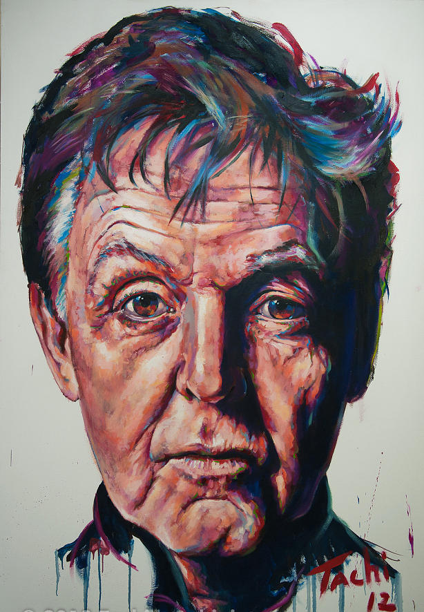 Paul Mccartney Painting - Paul - 2 by Tachi Pintor