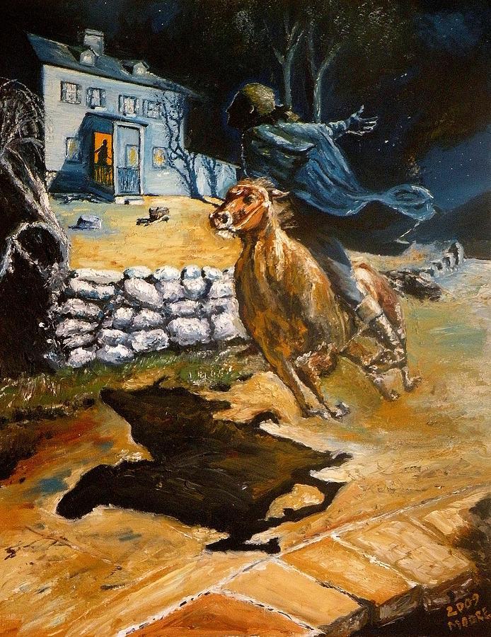 Paul Revere Painting - Paul Reveres Ride by Robert Moore