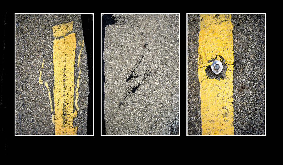 ... to Ann Powell | Art > Photographs > Fine Art Photography Photographs: fineartamerica.com/featured/pavement-abstract-triptych-photography...