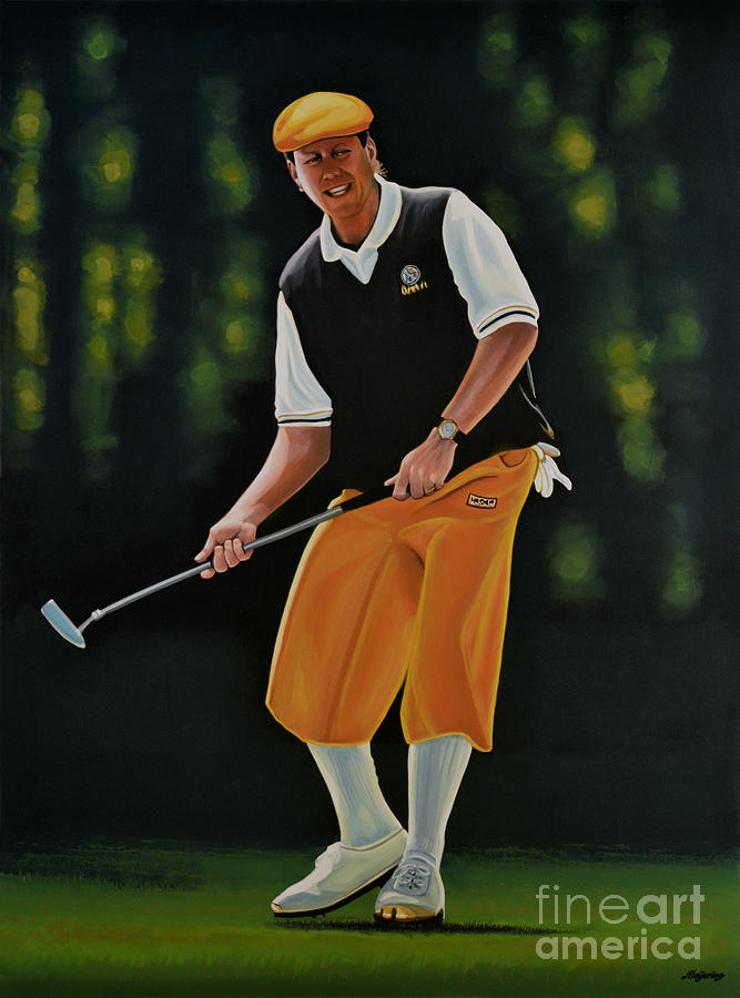 Payne Stewart Painting