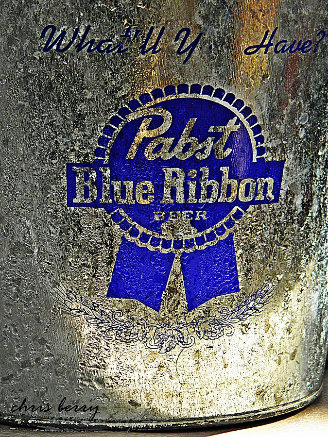 Pbr  Bucket O Beer  Photograph  - Pbr  Bucket O Beer  Fine Art Print