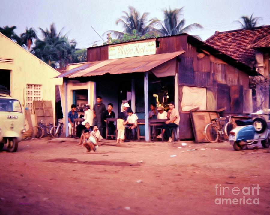 Peace In The Village Photograph