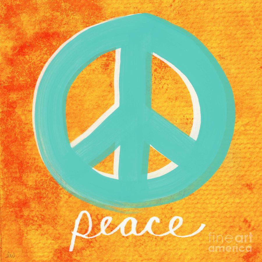 Peace Painting  - Peace Fine Art Print