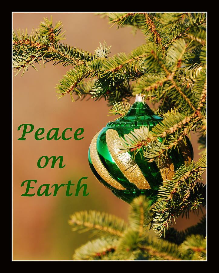 Peace On Earth Photograph