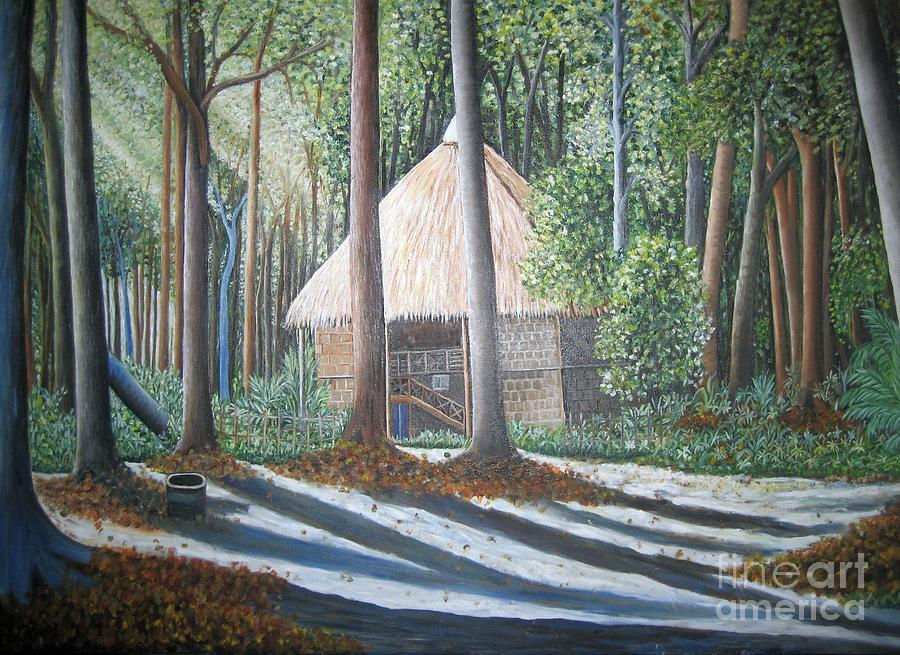 Peaceful Abode Painting