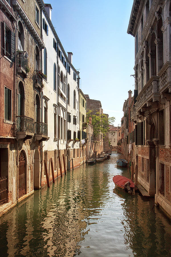 Italy Photograph - Peaceful Canal by Kim Andelkovic