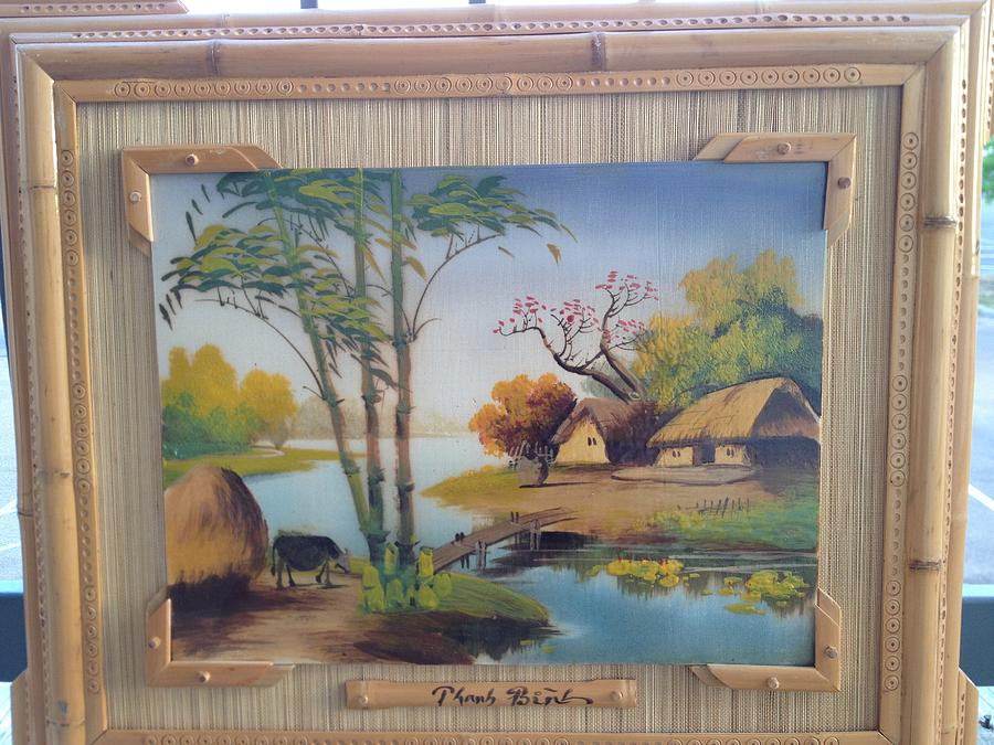 Peaceful Countryside Painting