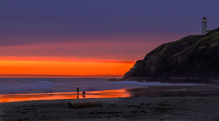 Sunset Photograph - Peaceful Evening by Robert Bales